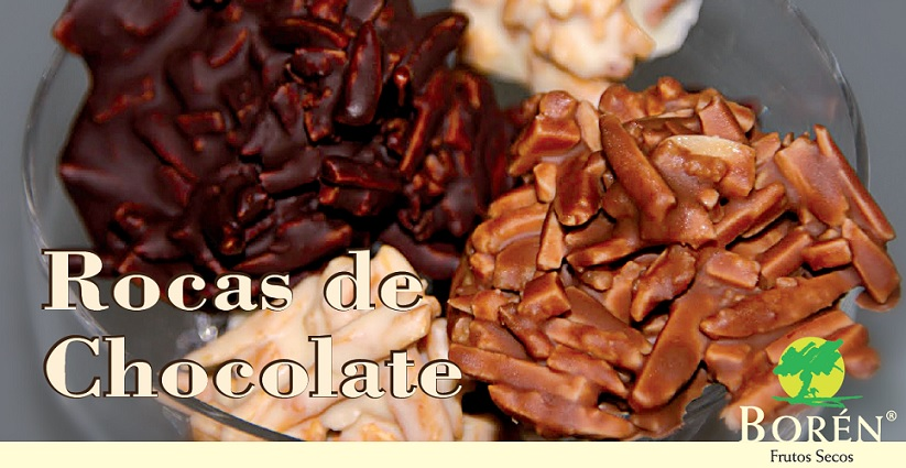 Almendras con chocolate
